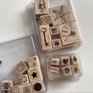STAMPIN UP Stamp Sets Lock & Key Clock